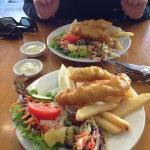 Fish and Chips in Greymouth